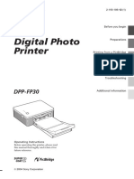 Sony Digital Foto Printer
