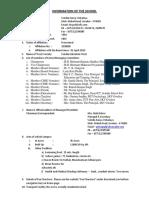 Information of the School - SKV Gwalior