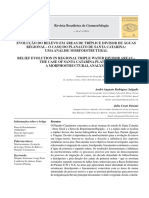 EVOLUÇÃO DO RELEVO EM ÁREAS DE TRÍPLICE DIVISOR DE ÁGUAS REGIONAL - O CASO DO PLANALTO DE SANTA CATARINA
