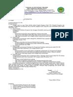 Contoh Surat pengajuan program kerja
