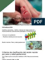 Clasificación de Battaglia Y Lubchenco