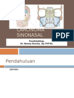 Tumor Sinonasal