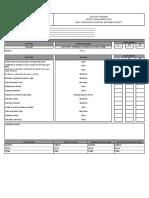 Protocolo-013 Estructura Metálica