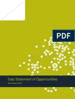Gas Statement of Opportunities - Western Australia