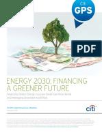 Citigroup Financing a Greener Future
