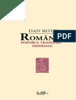 Dan Botta Romanii - Poporul Traditiei Imperiale