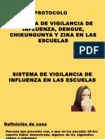 Sistema de Vigilancia de Influenza en Las Escuelas 2 Feberero 2016 Corregida