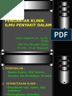 Pengantar Klinik IPD