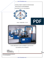 Fliuid mechanics Lab Manual 2014