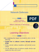 Chapter 5 - Network Defenses