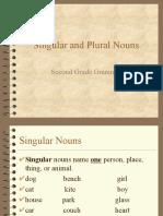 Plurals Second Grade