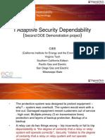 Adaptive Security Dependability