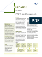 IFRS Update 2 - IFRS 11 - Joint Arrangements
