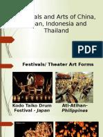 Festivals and Arts of China, Japan,
