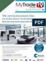 MyTradeTV Glass and Glazing Digital Magazine April 2014