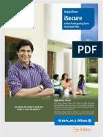 Isecure Insurance Plan