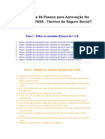 Download-90 Passos Para Aprovação No Concurso Do INSS-Técnico Do Seguro Social