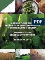 food production  consumption report - final