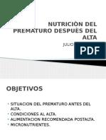 Uci 8. Nutricion Postalta Del Prematuro