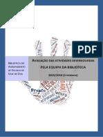 Relatório intermédio de avaliação das atividades desenvolvidas