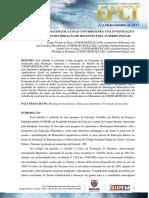 Modelagem Matemática e Suas Contribuições - Uma Investigação (Carol e Eliane)