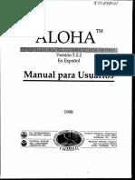 Manual Aloha Español