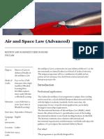 Universiteit Leiden Master Air and Space Law en 20160119
