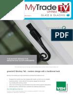 MyTradeTV Glass and Glazing Digital Magazine August 2014