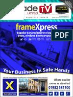 MyTradeTV Glass and Glazing Digital Magazine August 2015