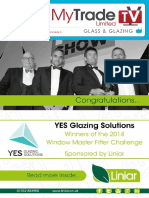 MyTradeTV Glass and Glazing Digital Magazine June 2014