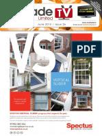 MyTradeTV Glass and Glazing Digital Magazine June 2015