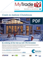 MyTradeTV Glass and Glazing Digital Magazine November 2014