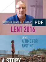 Lent 2016 - Superior General's Letter Vincentian Family