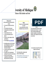 College Project Sample Poster U-M