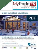 MyTradeTV Glass and Glazing Digital Magazine October 2014