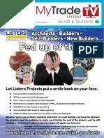 MyTradeTV Glass and Glazing Digital Magazine September 2014
