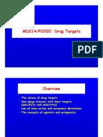 Drug Targets 2013(1)