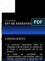 Uci 9. Manejo de Nutricion Parenteral en El Neonato de Riesgo