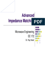 Advanced Impedance Matching