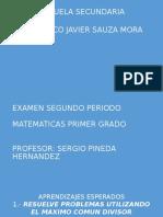 Exam. 2 Periodo