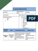 (ARO) ANALISIS DE RIESGO POR OFICIO