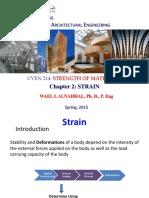CVEN214- Lecture 2 Strain -Dr. Wael Alnahhal