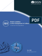 Guideline on the Management of Asthma