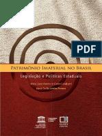 Patrimônio Imaterial no Brasil Legislação e Políticas Estaduais