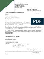Surat Penghargaan Ong Ka Chuan