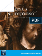 Jesus No Dijo Eso_ - Bart D. Ehrman