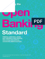 Introducing the Open Banking Standard
