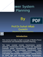 Introduction to the Subject Power System Planning