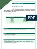 Português - Gramática Eletrônica 05 Classes de Palavras