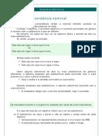 Português - Gramática Eletrônica 15 Concordância Nominal